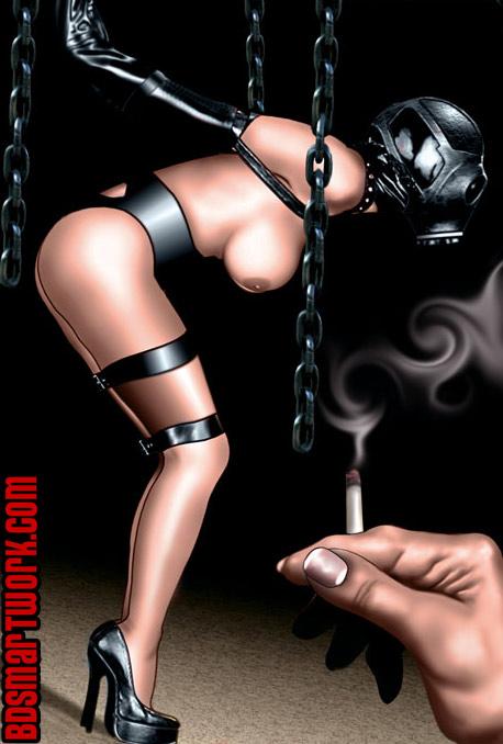 bdsm comics by De Haro