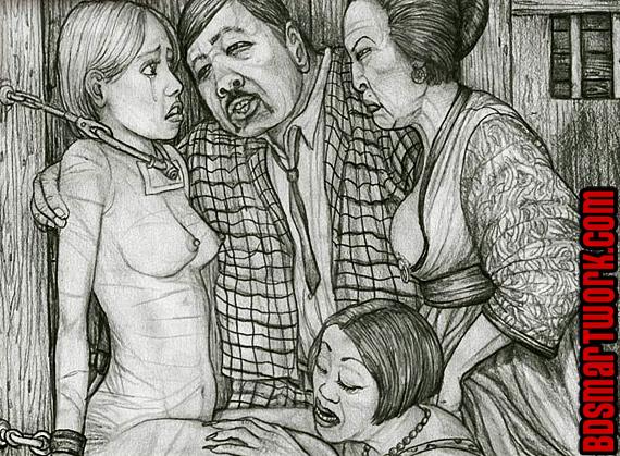 bdsm comics by Hines