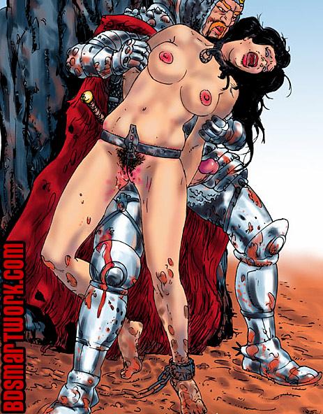 bdsm comics by Mr.Kane