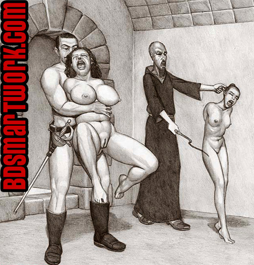 bdsm comics by Badia